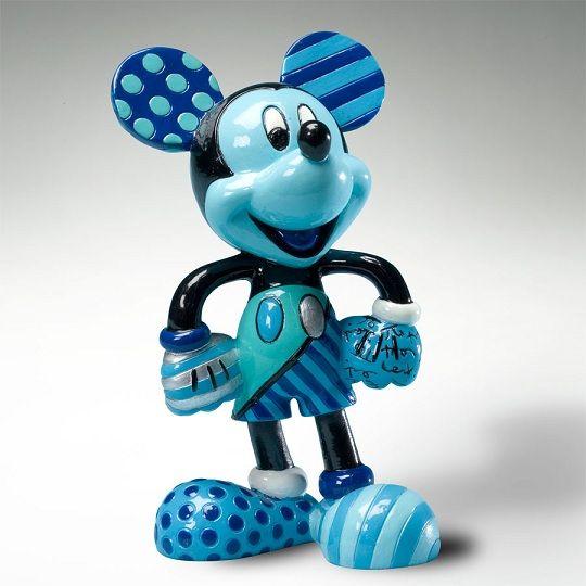 Britto Disney Mickey Blue