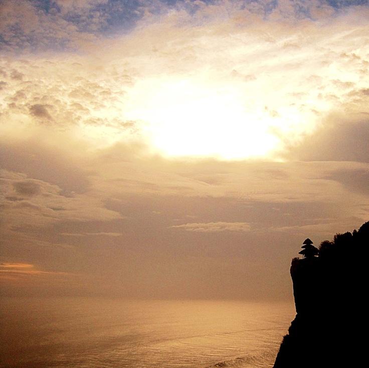 Uluwatu, Bali. Sunset.