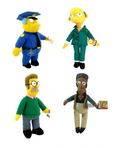 The Simpsons - Látkové figurky, různé druhy