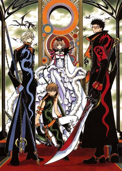 Tsubasa Reservoir Chronicles >. Possibly my favorite anime/manga of all time.