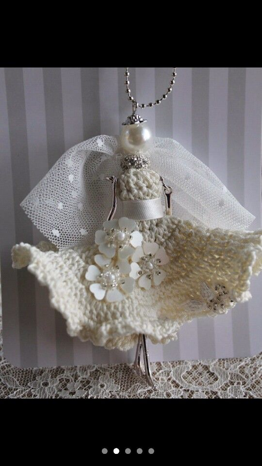 Bride Doll Necklace  LiveFashion.etsy.com