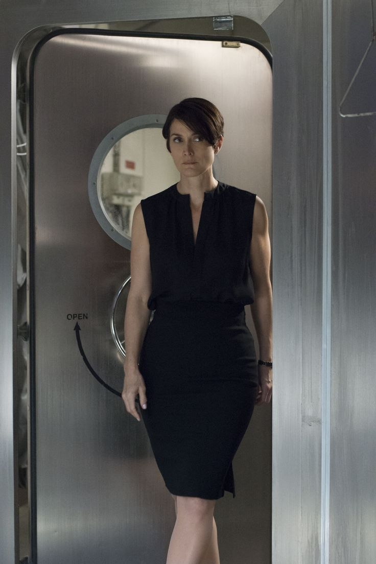 Carrie-Anne Moss sleek pixie cut ... I could probably pin this in MY STYLE as well as hair