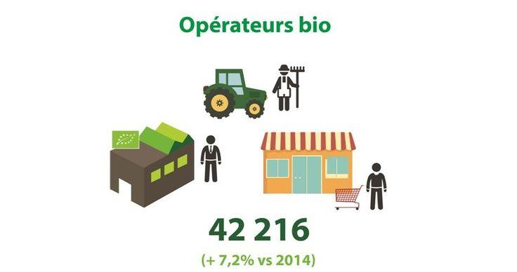 L'#Agriculture Biologique : une offre croissante pour répondre à une demande croissante #agriculturebio #agriculture #bio