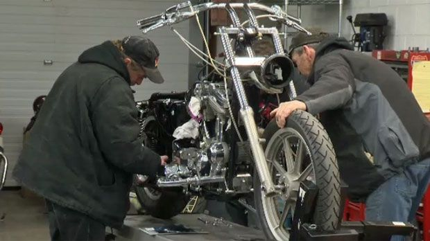 Kevin Fleming reports on  One Broken Biker, an organization raffling off a custom Harley Davidson Sportster to raise funds for victims of motorcycle crashes.