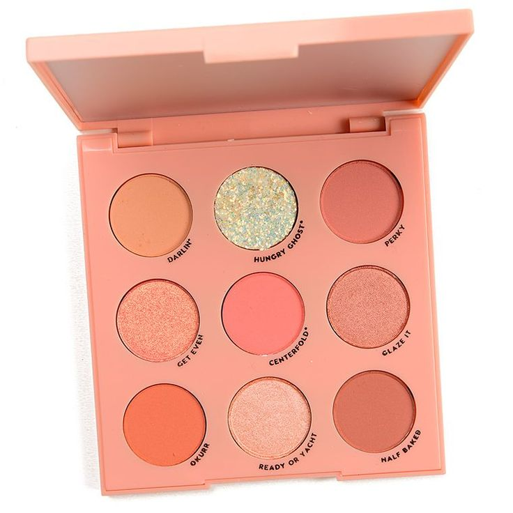 ColourPop Baby Got Peach Eyeshadow Palette Review & Swatches Colour Pop Baby Got…