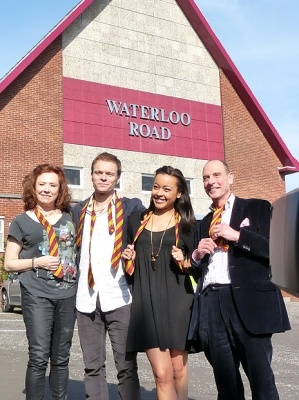 New set for Waterloo Road<3 Greenock<3