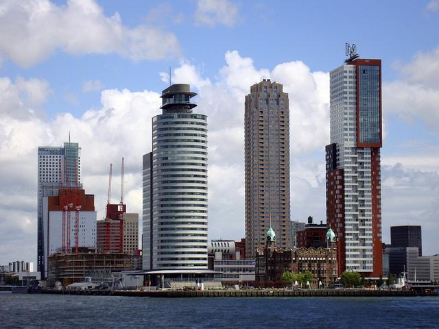 Wilhelminapier, Rotterdam, The Netherlands.