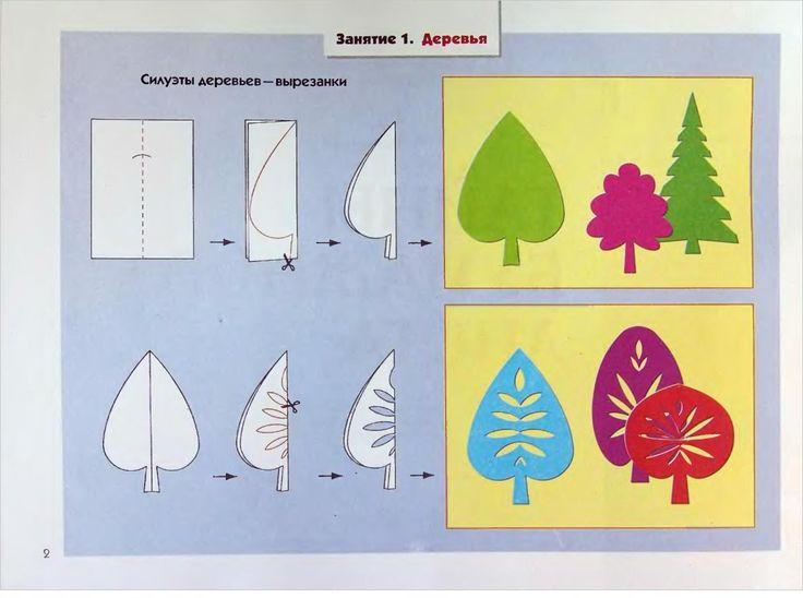 Kirigami leaves