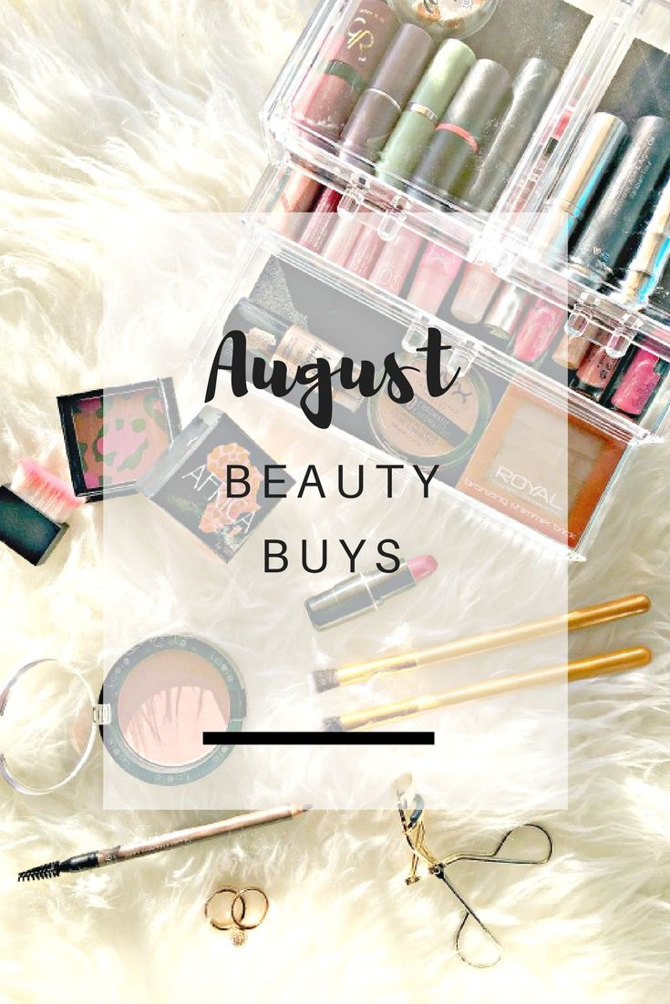 August Beauty Buys: Sharing everything beauty related I've bought during August and my first impressions about them | Ioanna's Notebook
