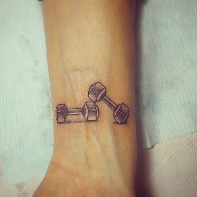 Fitness, Health & Well-Being   49 Tattoos That Show a Serious Commitment to Fitness   POPSUGAR Fitness Photo 48