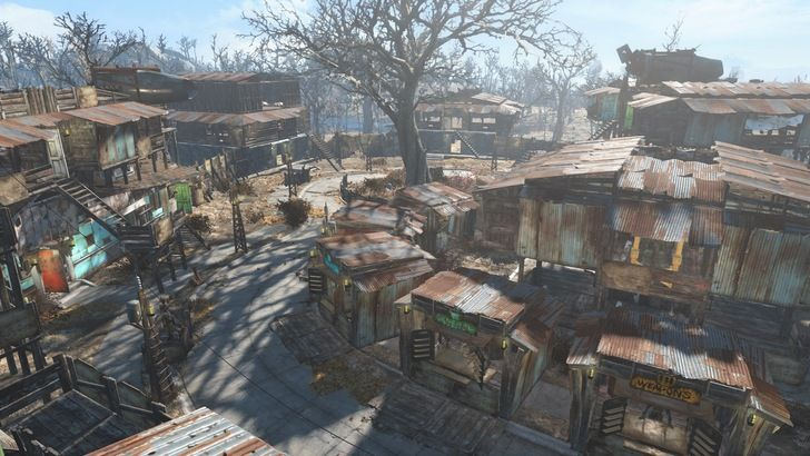 Some of my first non-mod settlements in fallout, some designs were inspired by 'norespawn' on YouTube, this is my first post and I hope you like it! - Album on Imgur