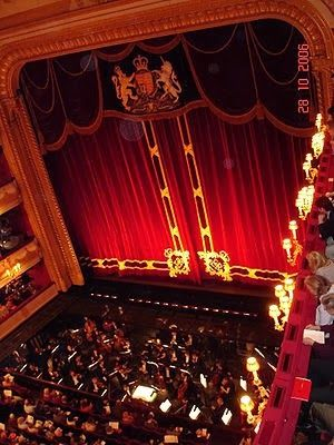 Royal Opera House - London - just lush, how decadent you would feel sitting here :)