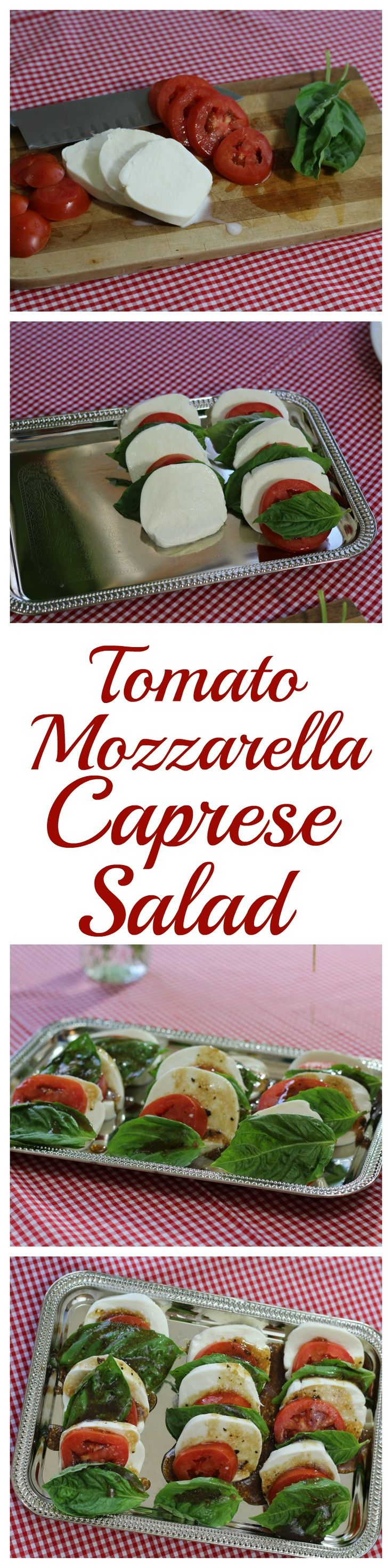 Easy, simple, and delicious tomato mozzarella caprese salad is the perfect addition to any Italian dinner menu. Grab our recipe and enjoy. Set the mood with a few simple touches and use our trick for turning pasta into table decor.
