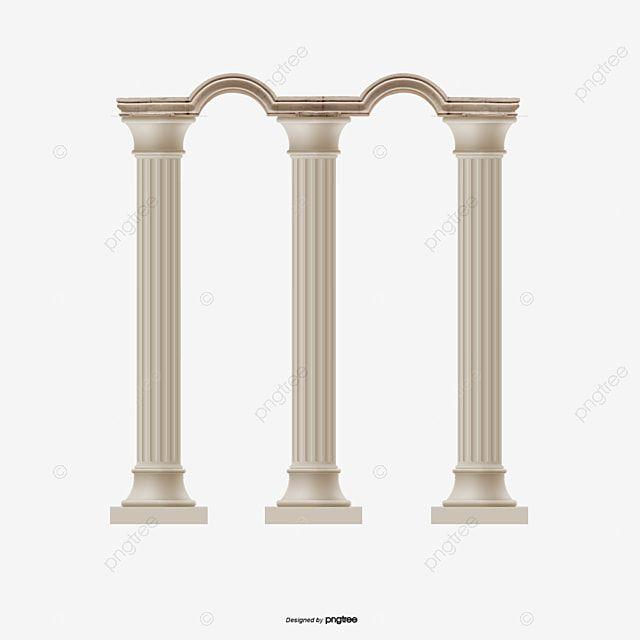 Estilo Classico Europeu Coluna Romana Ii Png E Psd Roman Columns Famous Buildings Classical