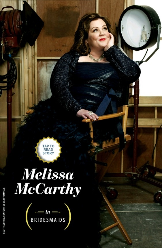 Melissa McCarthy....funniest actress