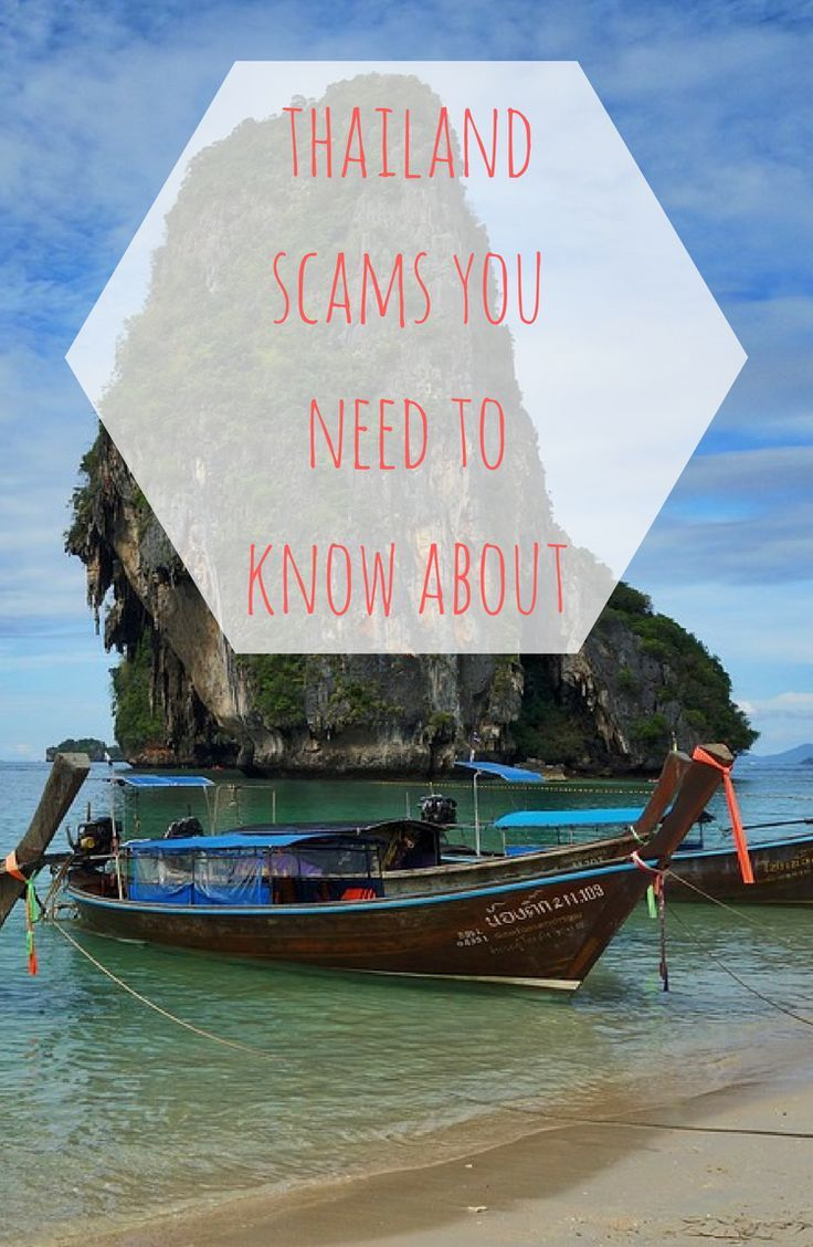 Avoid these scams in Thailand #thailand #travel