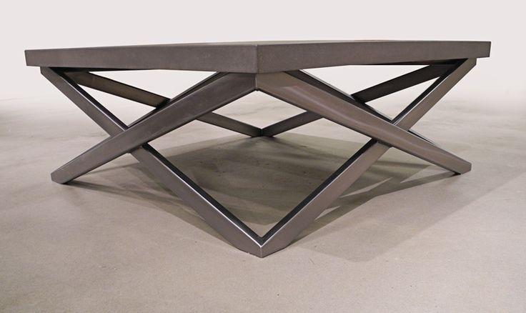 """THE SQUARE """"X"""" COFFEE TABLE - Brandner Design"""