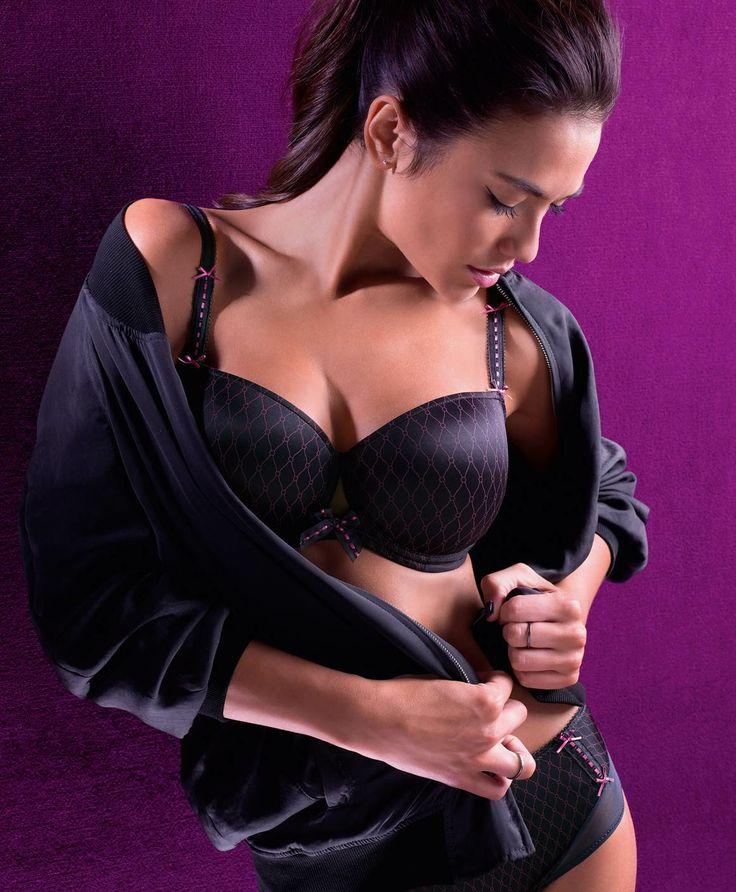PRIMA DONNA TWIST CRAZY IN LOVE CHARCOAL WEBSHOP www.esterella.nl