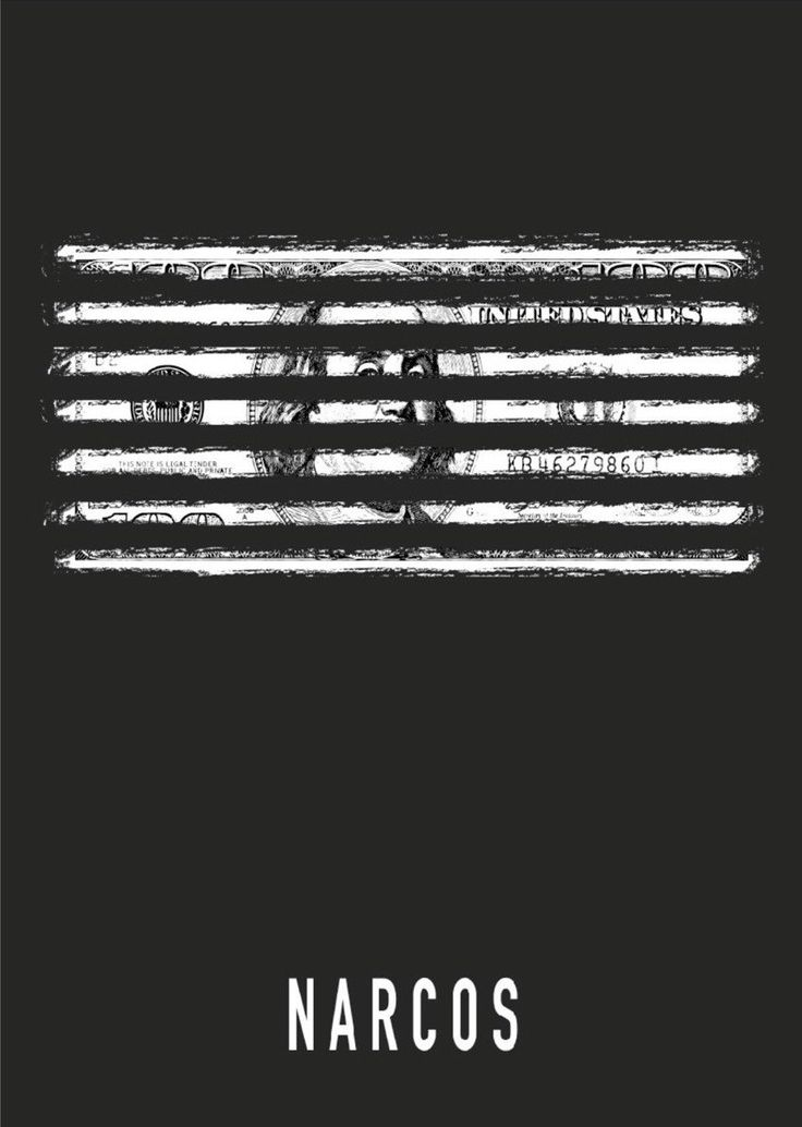 Narcos (2015–) ~ Minimal TV Series Poster by David Peacock #amusementphile