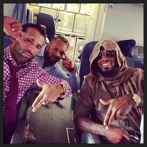 Jose Bautista, Emilio Bonafacio and Jose Reyes on their way to Philadelphia