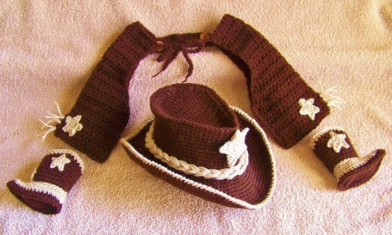 Baby cowboy costume baby cowboy hat boots by conniemariepfost, $131.00