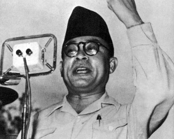 Hatta streed samen met Soekarno voor de vrijheid in Indonesië.