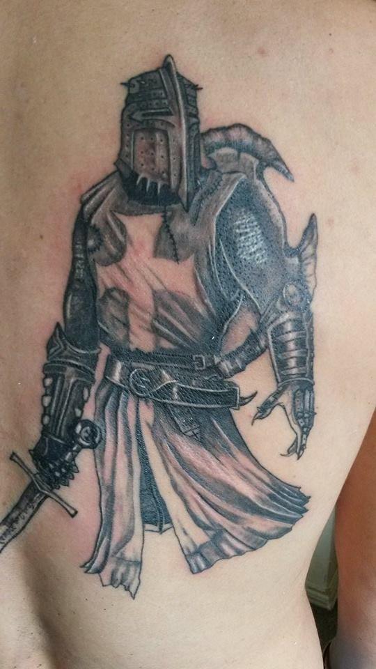 guerrero templario!