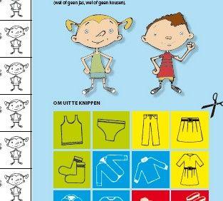 Dit aankleedrooster helpt je kleuter zelfstandig zijn kleren aantrekken. Knip de pictogrammen uit die je nodig hebt. Kleef ze onder elkaar op het rooster in de volgorde waarop jouw kind zich moet aankleden. Met een wasspeld die de stapjes meevolgt, leert je kind het zelf.