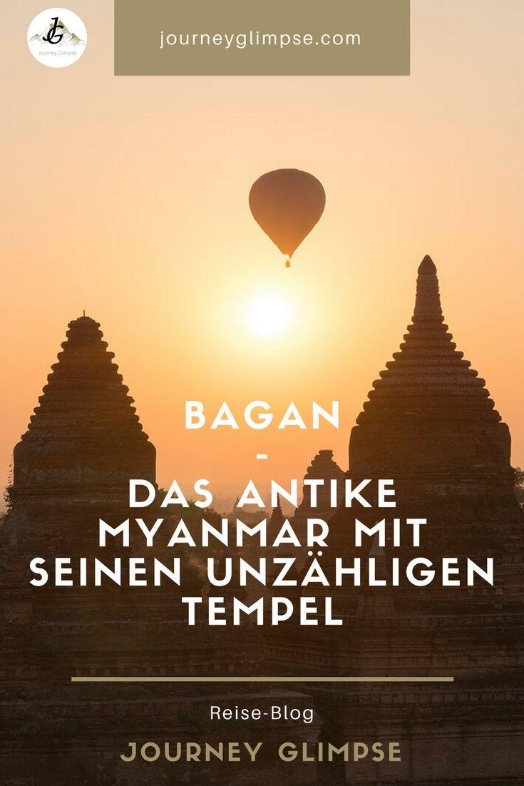 Bagan ist der antike Teil von Myanmar. Bagan darf bei keinem Myanmar-Besuch fehlen.