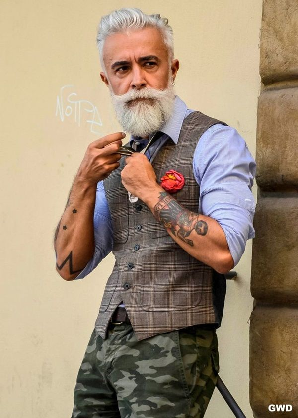 Check for some fabulous old man fashion looks to stay way ahead than others battling with mid-life crisis. As someone had said, 'as we mature, fashion needs to be less fussy and more sleek and sophisticated, but not fuddy-duddy'.