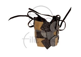 Mozaik deri bileklik / Mosaic leather bracelet