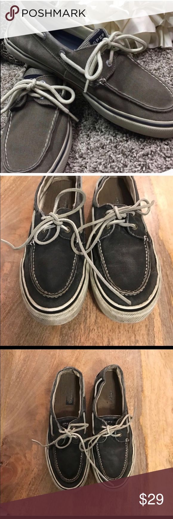 Sperry Top-Sider Men's Boat Shoes✔️Navy✔️10.5 Sperry Top-Sider Men's Boat Shoes✔️10.5 ✔️light navy with white laces ✔️preloved but still great condition. ✔️ Sperry Top-Sider Shoes Boat Shoes