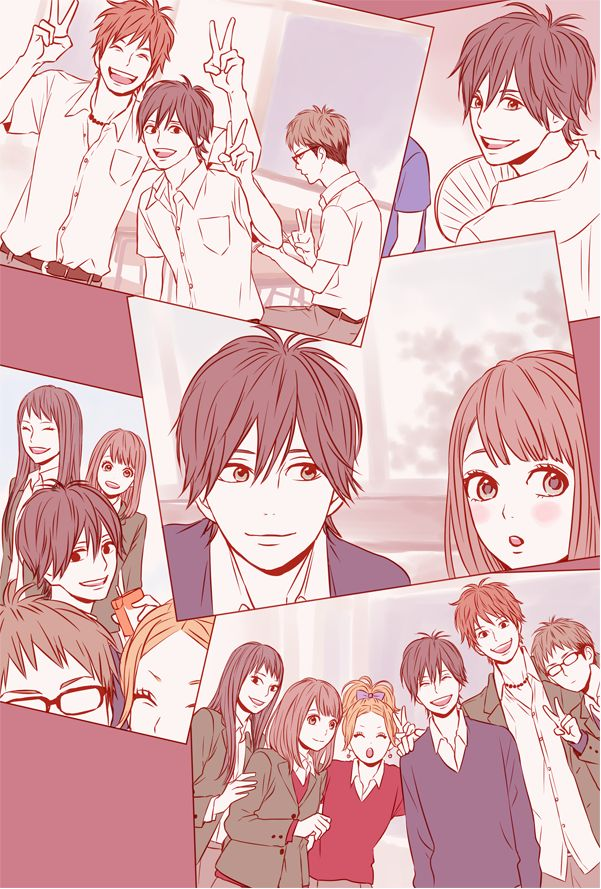 Orange - the way Kakeru looks at Naho is too cute :3
