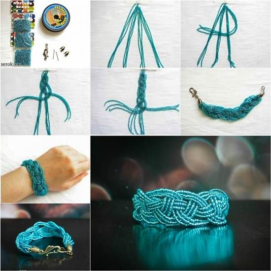 ღღ How to DIY Beautiful Celtic Knots Weaving Bracelet | iCreativeIdeas.com Like Us on Facebook == https://www.facebook.com/icreativeideas