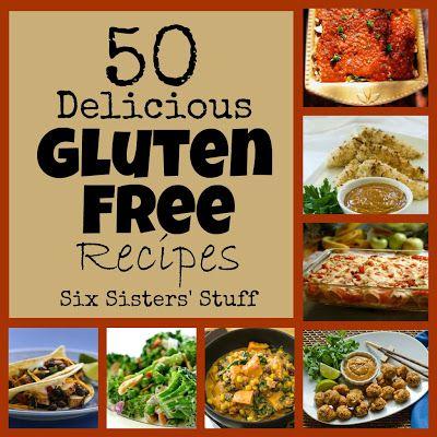 50 Delicious Gluten Free Recipes from https://SixSistersStuff.com. #sixsistersstuff #glutenfree #healthy #recipe #gluten #recipes