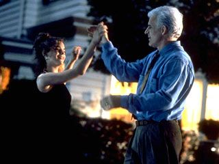 Annie and George playing basketball in Father of the Bride.  GREAT scene!  *sniff*