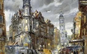 картины с дождем - 08