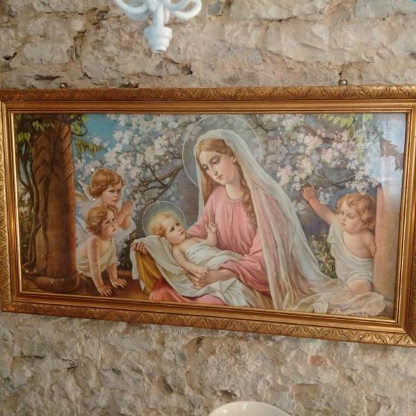 Alte Heiligenbilder in versch. Varianten... Nostalgie