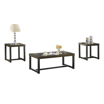 Brassex 2017-13 Alero 3-Piece Coffee Table Set