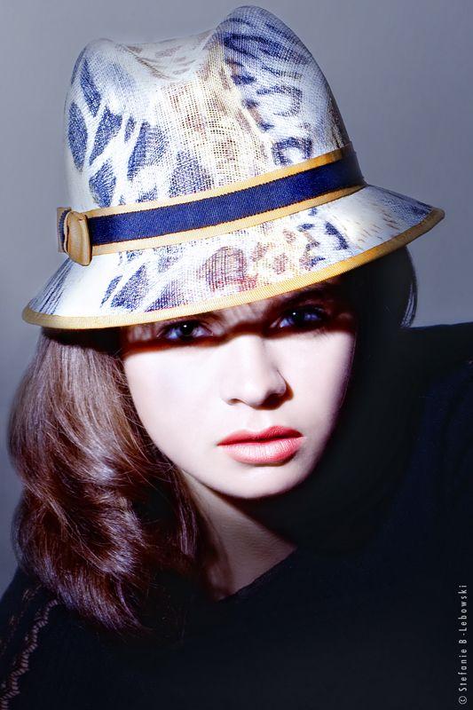 The Leopard Hat. Mademoiselle Slassi (Paris).