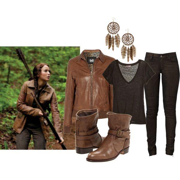 Hunger Games Fashion Katniss Everdeen Want Katniss 39 Look We 39 Ve Put Together An Ensemble