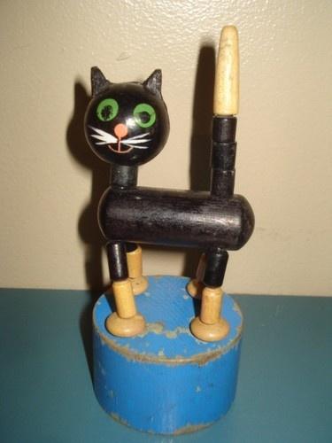 Vintage Wakouwa Push Puppet Pinterest Vintage