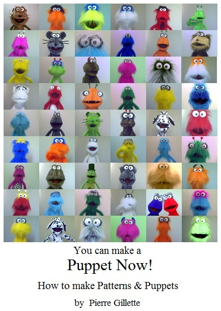 You can make a Puppet Now! How to make Patterns and Puppets - Now available for download at Amazon