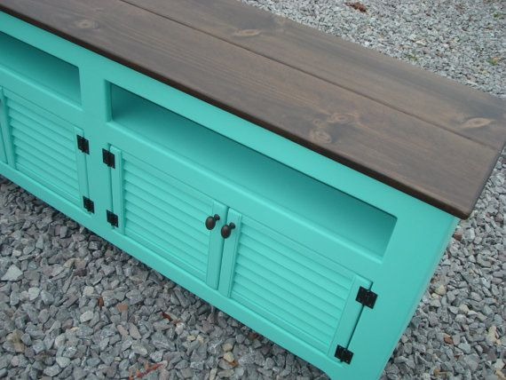 Media Console TV Stand Media Cabinet Sideboard by KKFurniture