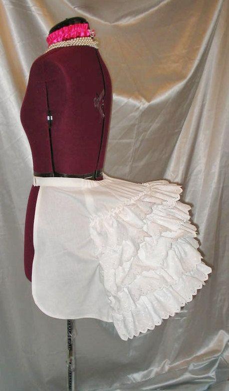 Victorian Bustle Cage Frame 1800's SASS Post Civil War for Bustledresses built in petticoat. $98.99, via Etsy.