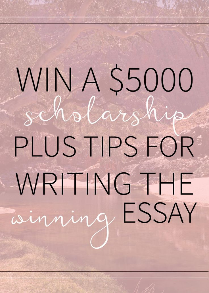 Scholarships are the bread and butter for so many students when it comes to paying for college. Check out this $5000 scholarship opportunity plus my best essay tips!