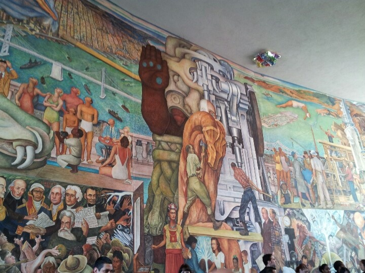17 best images about my past lives on pinterest santa cruz college campus and entrance for City college of san francisco diego rivera mural