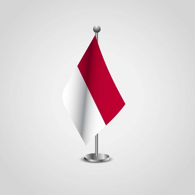 Indonesia Flag Pole Vector And Png Indonesia Flag Flag Icon Flag Pole