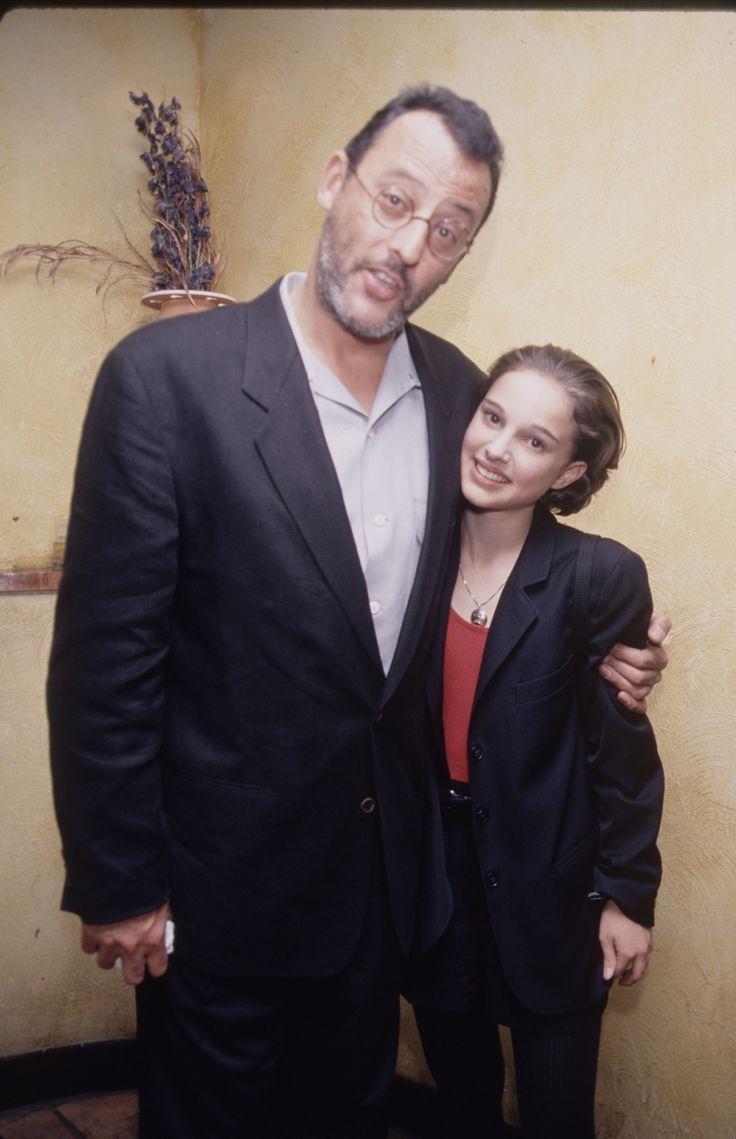 Jean Reno and Natalie Portman (November 1994)