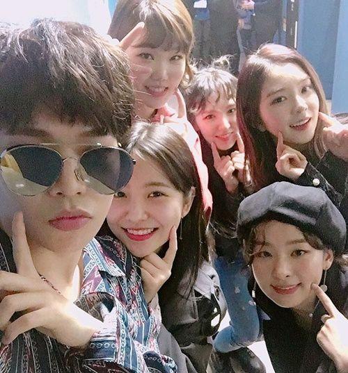 Akdong Musician and Red Velvet.